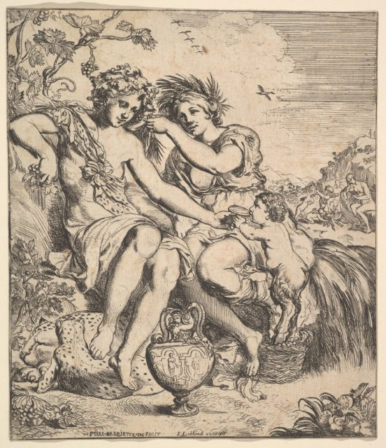 The Alliance of Bacchus and Ceres