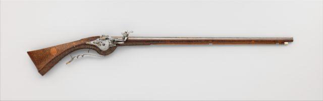 Wheellock Gun
