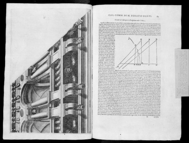 Le due regole della prospettiva practica di M. Iacomo Barozzi da Vignola
