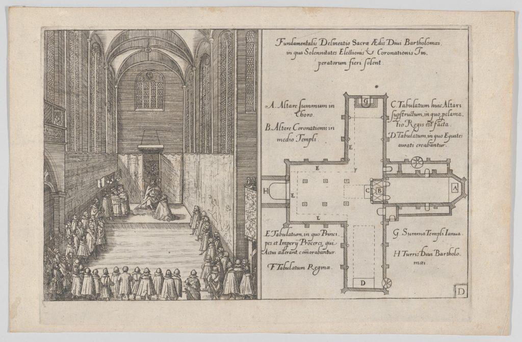 Plate D: Election and Coronation of Emperor Maximilian II
