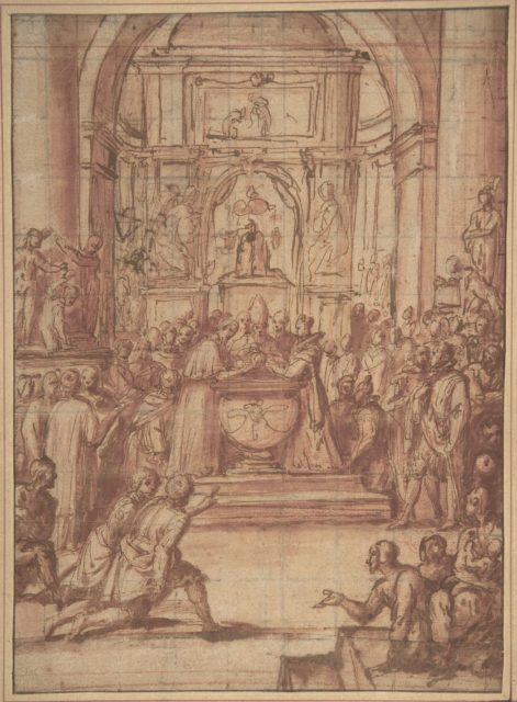 State Baptism of a Child of Noble Blood.
