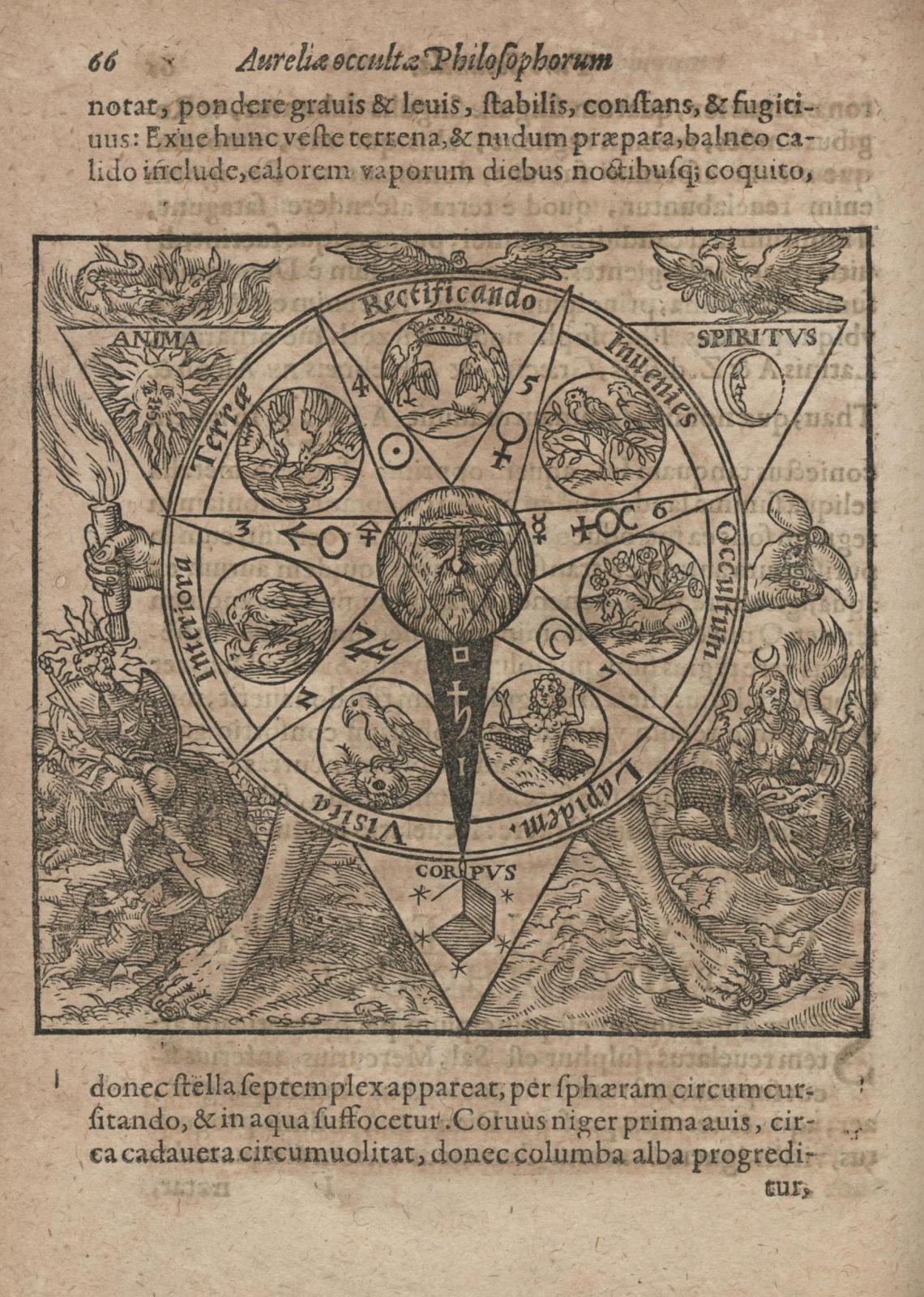 Azoth, Sive Aureliae Occultae Philosophorum by Basil Valentine, 1613 (dresden)