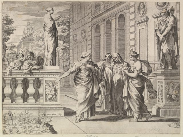 Allegory in Honor of the Roman College Founded by the Borghese Family