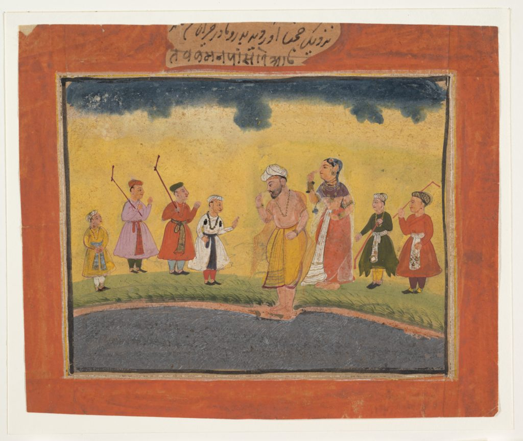 Krishna's Parents Search for Him