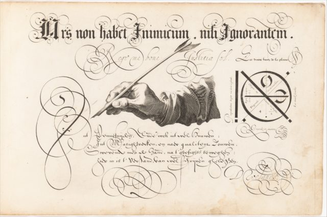 T'Magazin oft Pac-huys der Loffelÿcker Penn-const (The Store Room or Ware House of the Praiseworthy Art of the Pen)