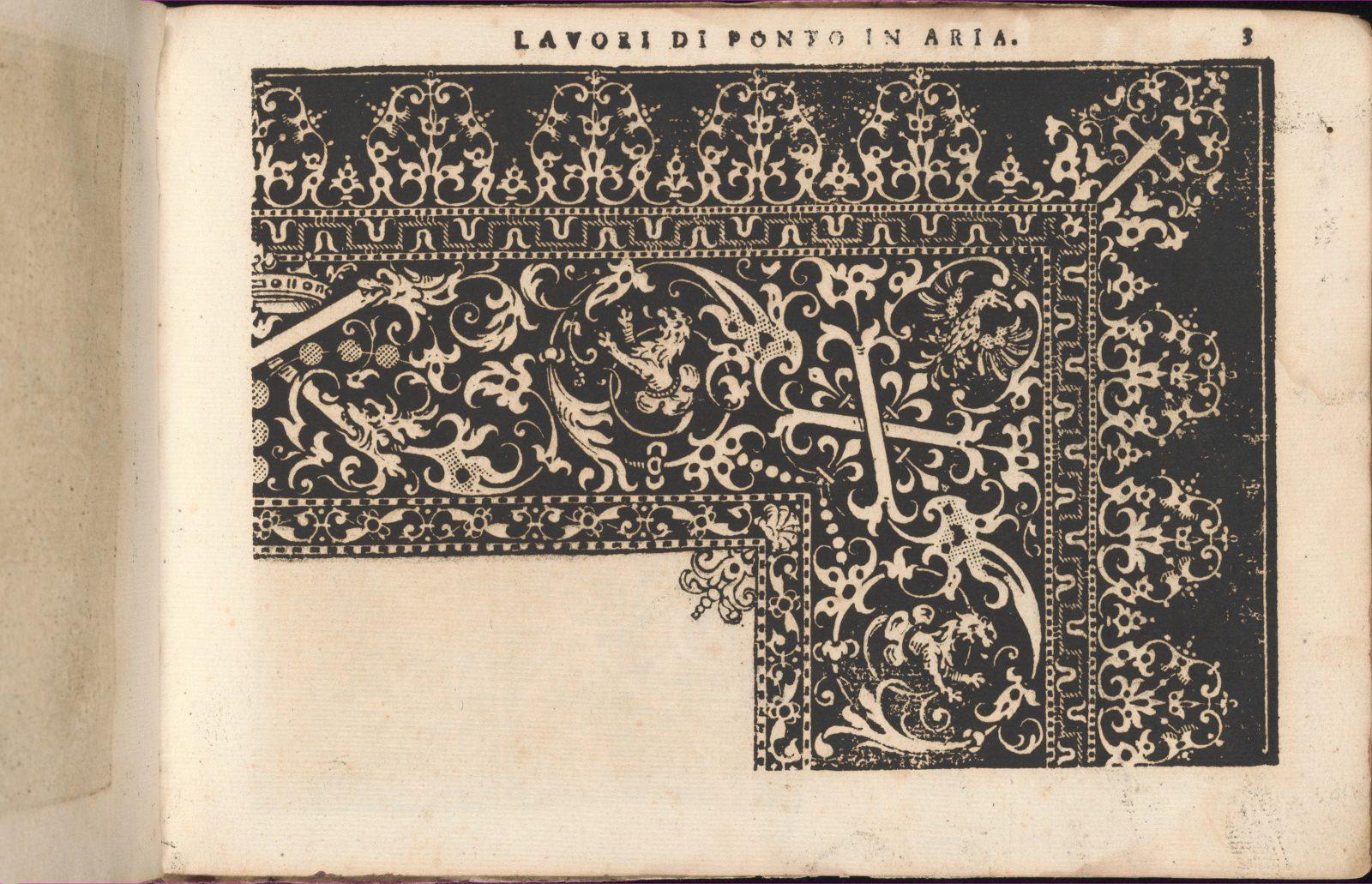 Teatro delle Nobili et Virtuose Donne..., page 11 (recto)