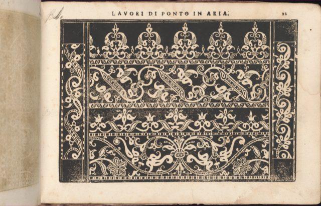Teatro delle Nobili et Virtuose Donne..., page 18 (recto)
