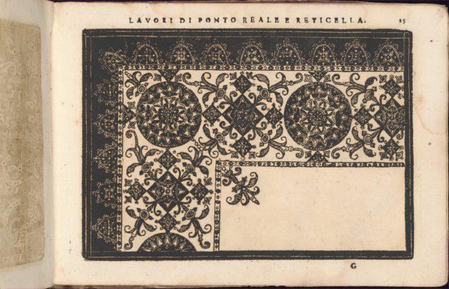 Teatro delle Nobili et Virtuose Donne..., page 25 (recto)