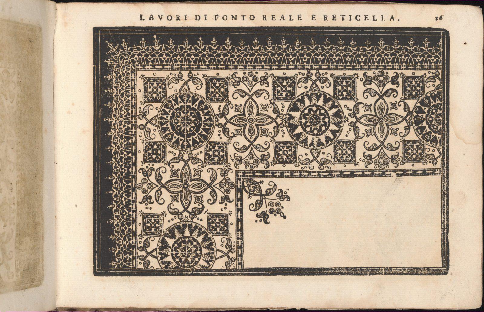 Teatro delle Nobili et Virtuose Donne..., page 26 (recto)