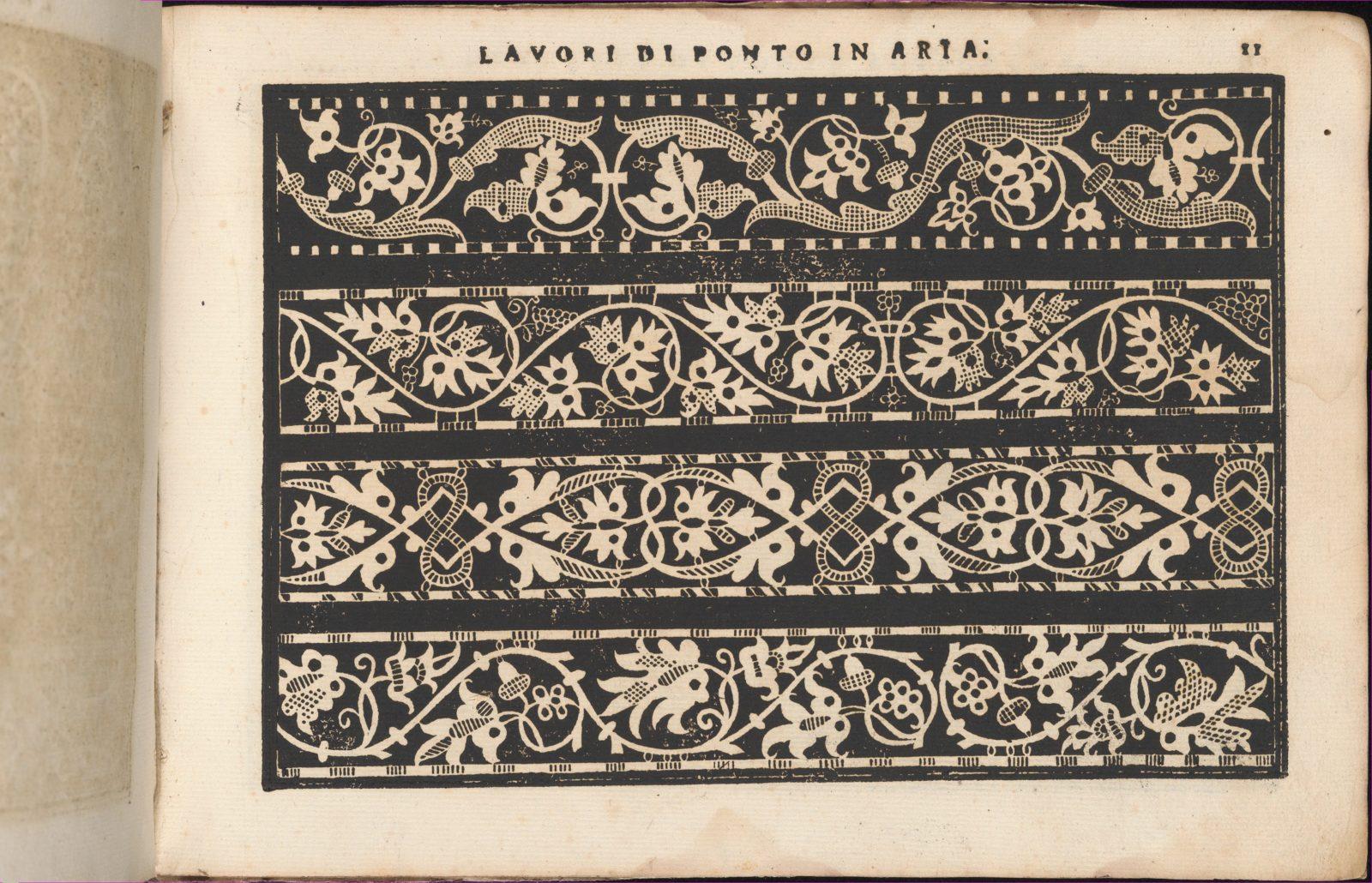 Teatro delle Nobili et Virtuose Donne..., page 7 (recto)