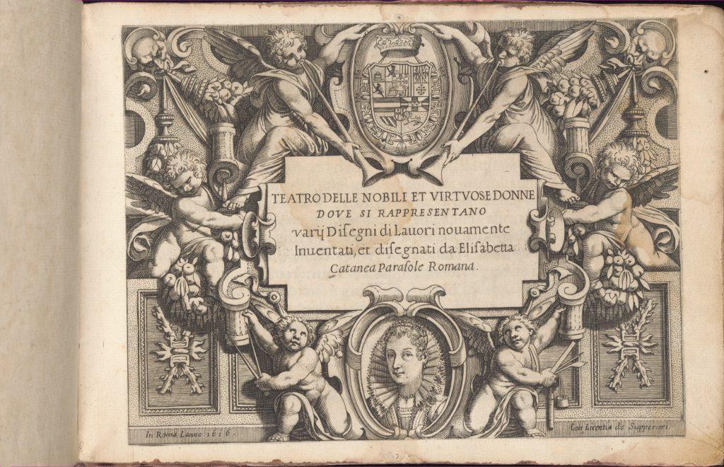 Teatro delle Nobili et Virtuose Donne..., title page (recto)
