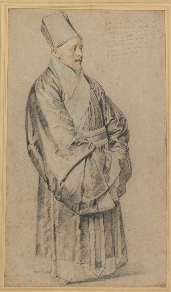 Portrait of Nicolas Trigault in Chinese Costume