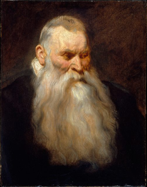 Study Head of an Old Man with a White Beard