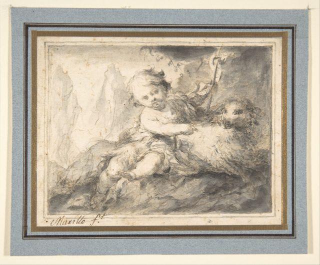 The Infant St. John the Baptist