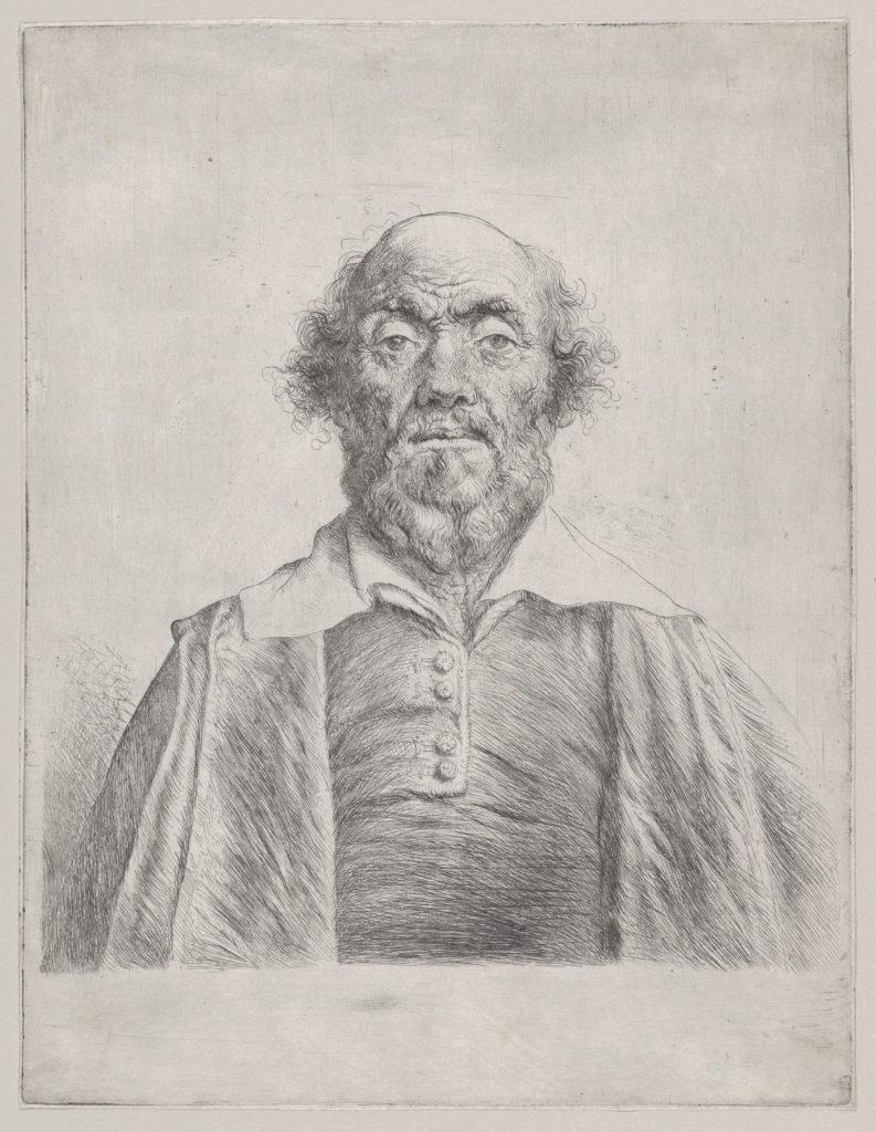 Bust of an Elderly Man