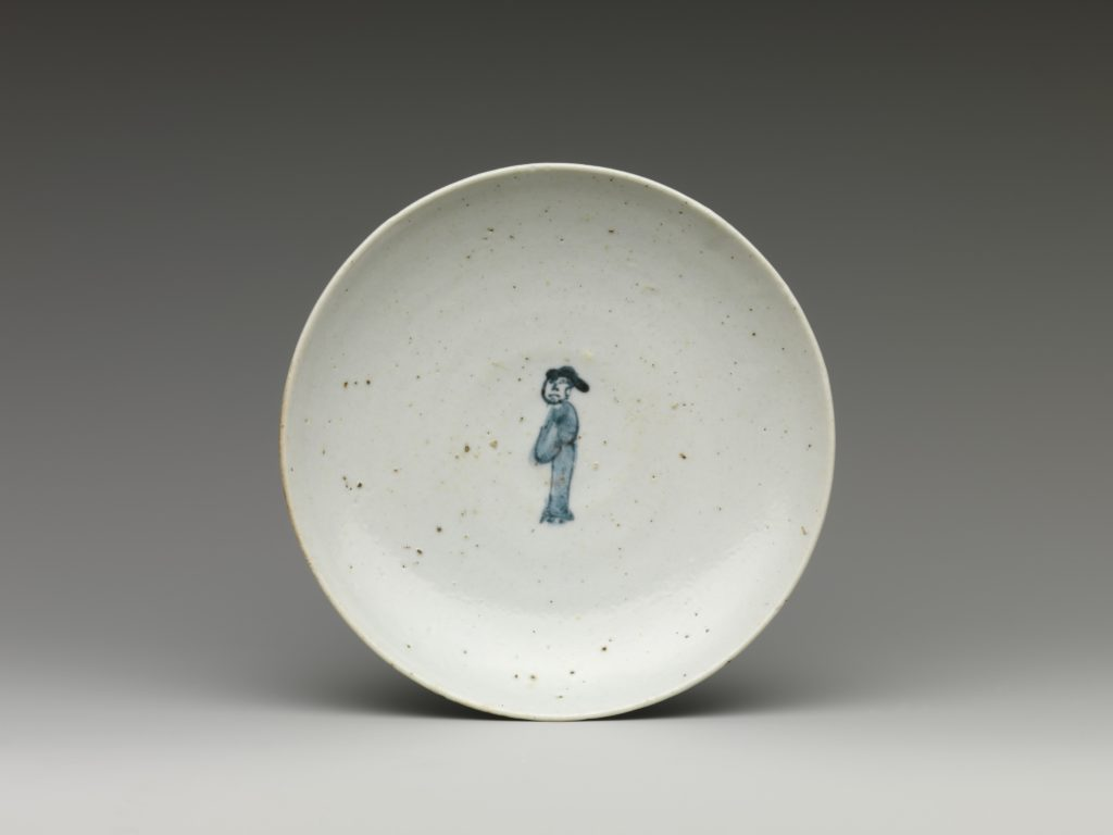 Dish with Figure