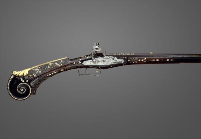 Flintlock Gun of Louis XIII (1601–1643), King of France