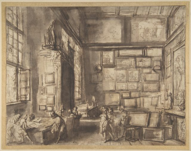 Interior of a Picture Gallery