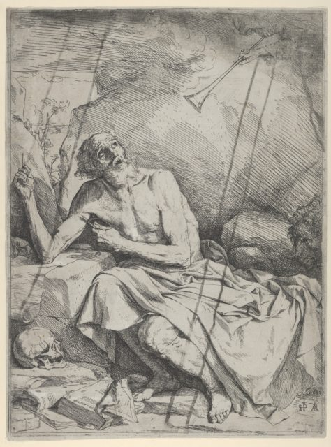 Saint Jerome Hearing the Trumpet of the Last Judgment