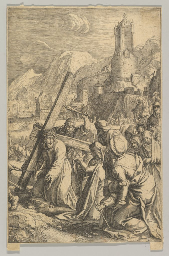 Christ Carrying the Cross, from The Passion of Christ