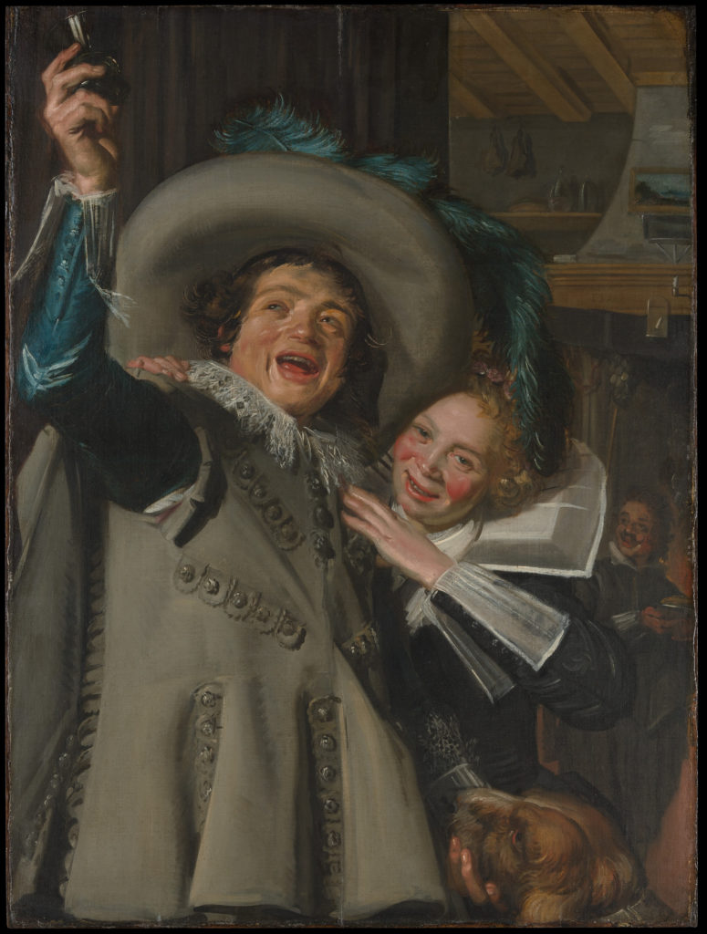 """Young Man and Woman in an Inn (""""Yonker Ramp and His Sweetheart"""")"""