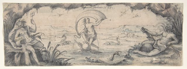 An Allegory of Fortune with Two River Gods