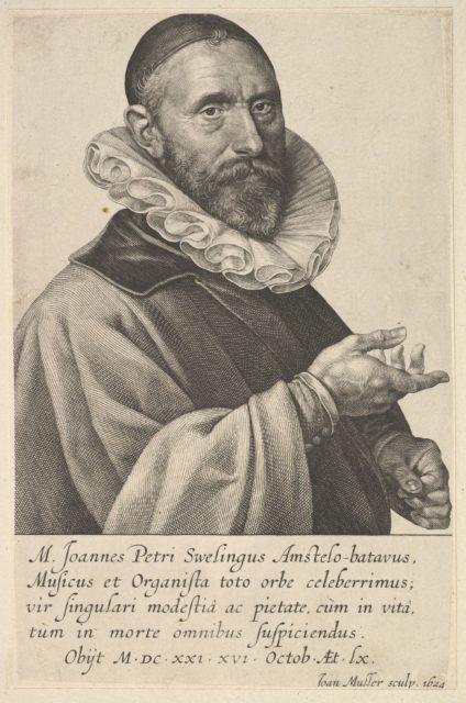 Portrait of Jan Pietersz Sweelinck, Organist & Musician in Amsterdam