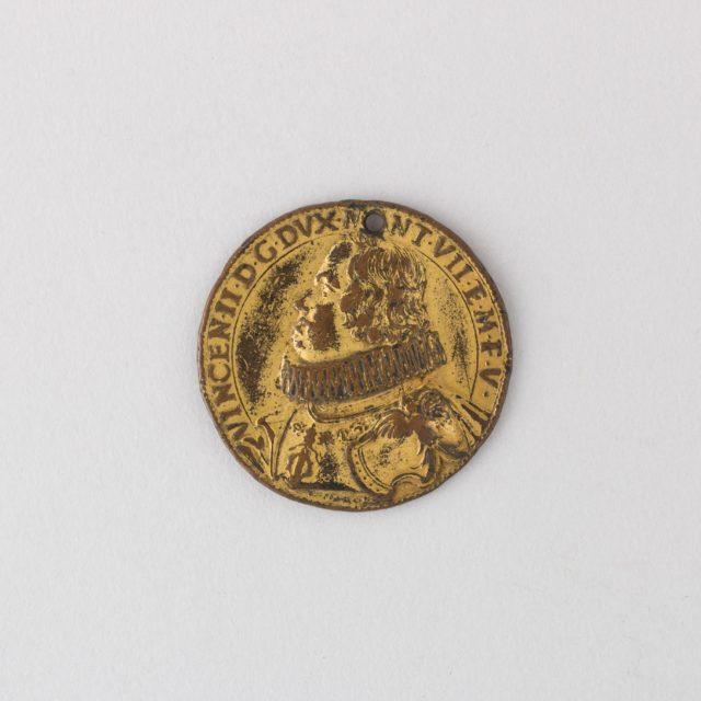 Medal of Vicenzo II Gonzaga, 7th Duke of Mantua