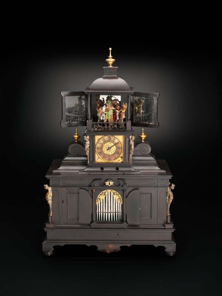 Musical Clock with Spinet and Organ