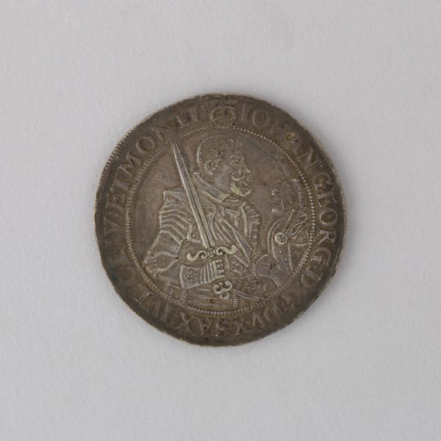 Coin (Thaler) Showing John George I, Duke of Saxony