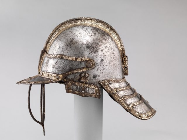 Helmet for a Harquebusier