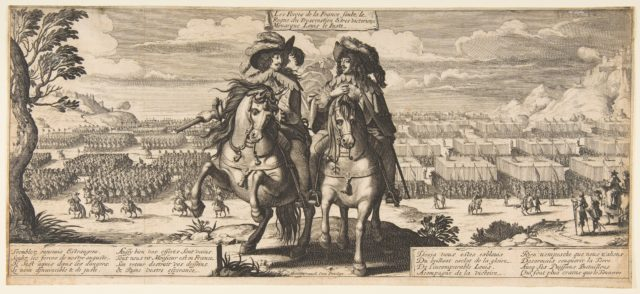 The French Forces: Louis XIII and Gaston d'Orléans