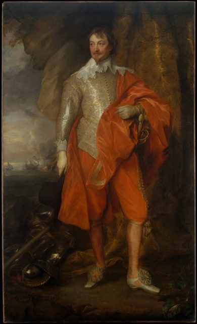 Robert Rich (1587–1658), Second Earl of Warwick