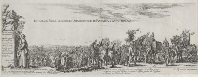 Entry of the Polish Ambassador into Rome