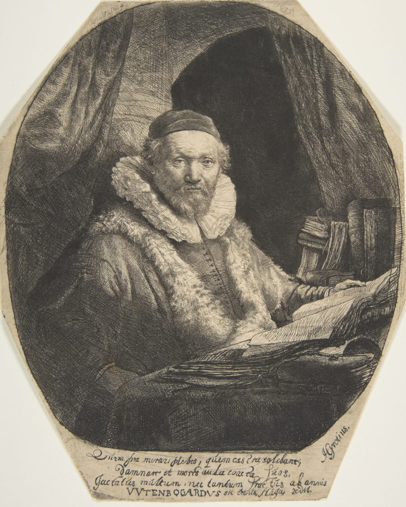 The Remonstrant Preacher Johannes Uytenbogaert
