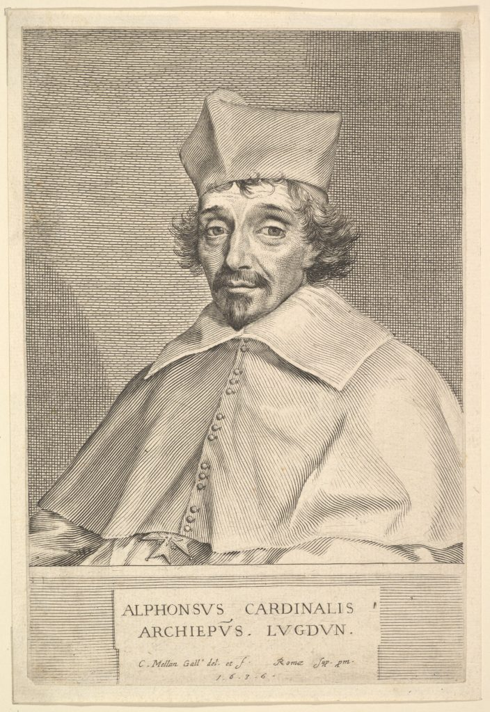 Alphonse Du Plessis de Richelieu, cardinal de Lyon