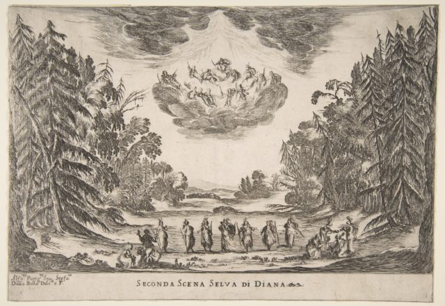 The Wedding of the Gods: Second Scene, Diana