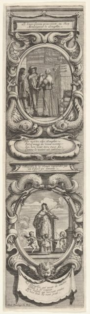 Allegories in Honor of the Birth of the Dauphin