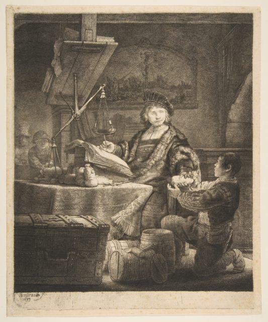 Jan Uytenbogaert (The Gold Weigher)