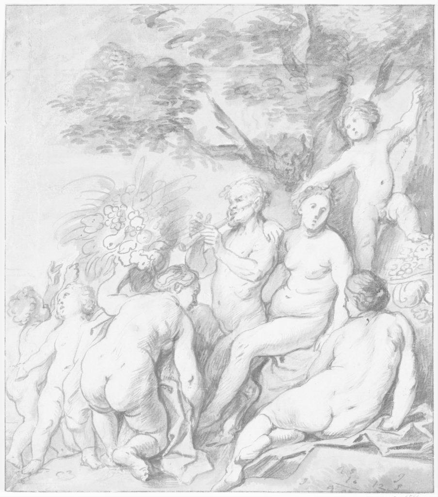 Allegory of Fertility (Recto)