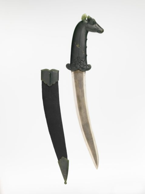 Dagger with Hilt in the Form of a Blue Bull (Nilgai)