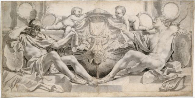 Allegory in Honor of Cardinal Richelieu