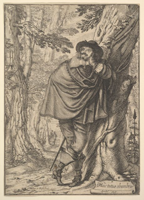James Howel Standing in a Forest