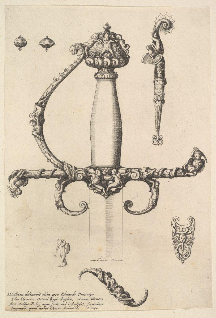 Ornamental sword hilt