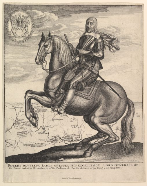 Earl of Essex on Horseback