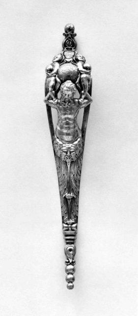 Trigger Guard of a Gun made for a Prince of the House of the Medici