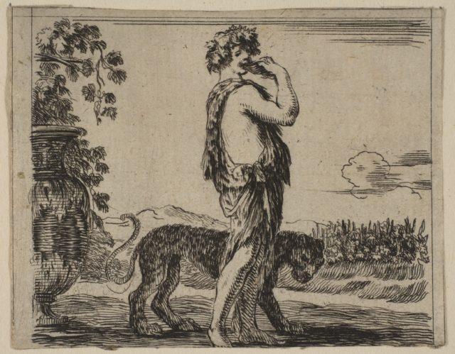 Bacchus, from 'Game of Mythology' (Jeu de la Mythologie)