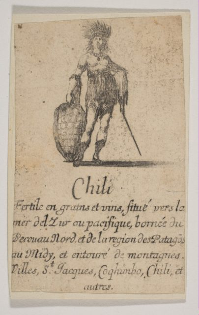 Chile, from 'Game of Geography' (Jeu de la Géographie)