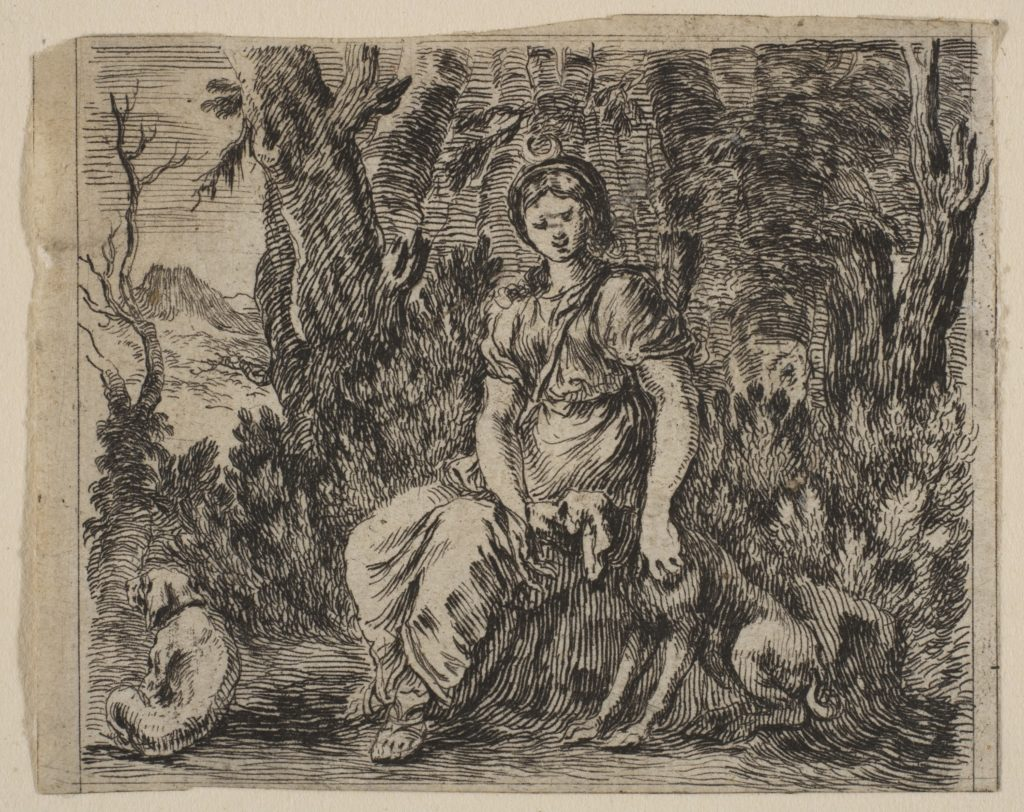 Diana, from 'Game of Mythology' (Jeu de la Mythologie)