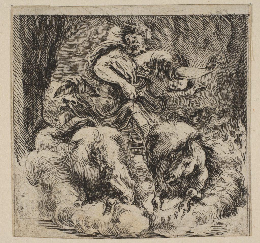 Proserpina, from 'Game of Mythology' (Jeu de la Mythologie)